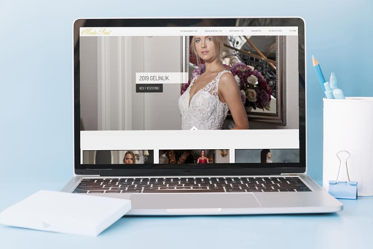 moda perisi web site çalışması